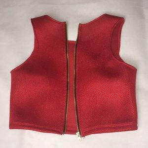 Forgotten Citizen Zipper Vest